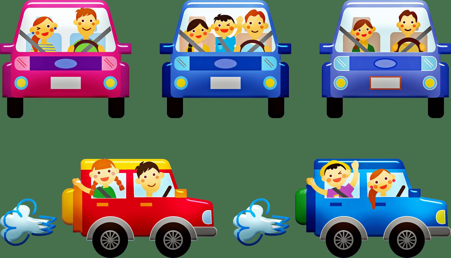 Spiele im Auto