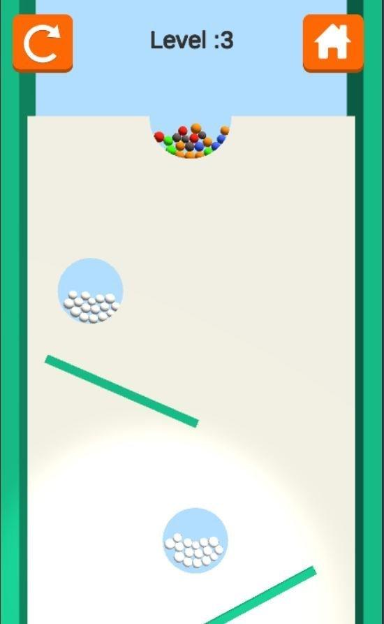 sand balls level