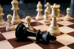 der könig beim schach