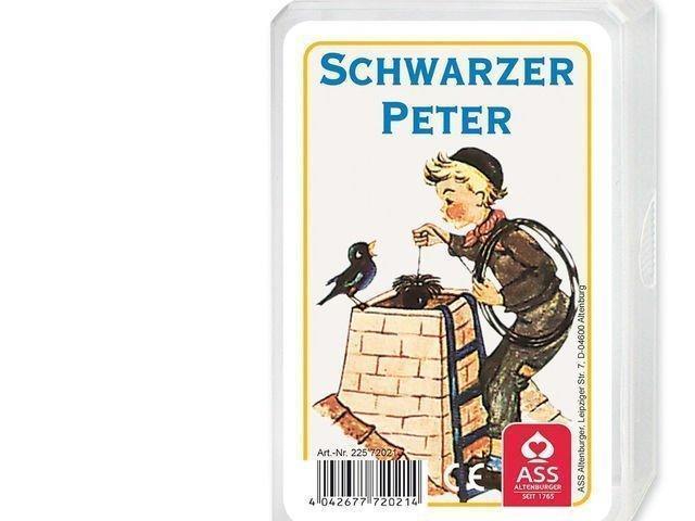 Schwarzer Peter Spielkarte