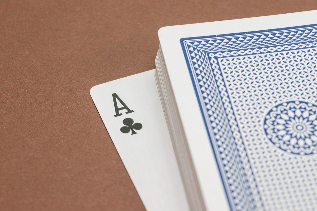 poker karte hoch