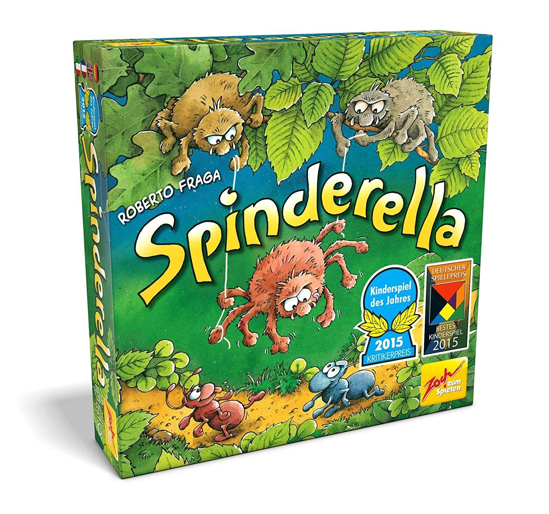 Spiel Spinderella