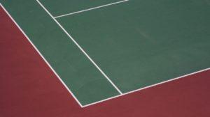 tennis spielfeld