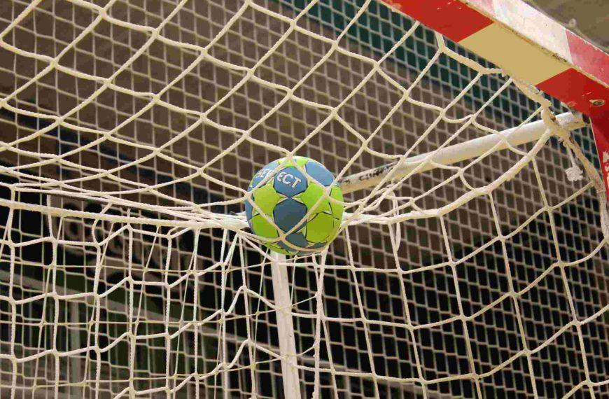 Der Torraum beim Handball