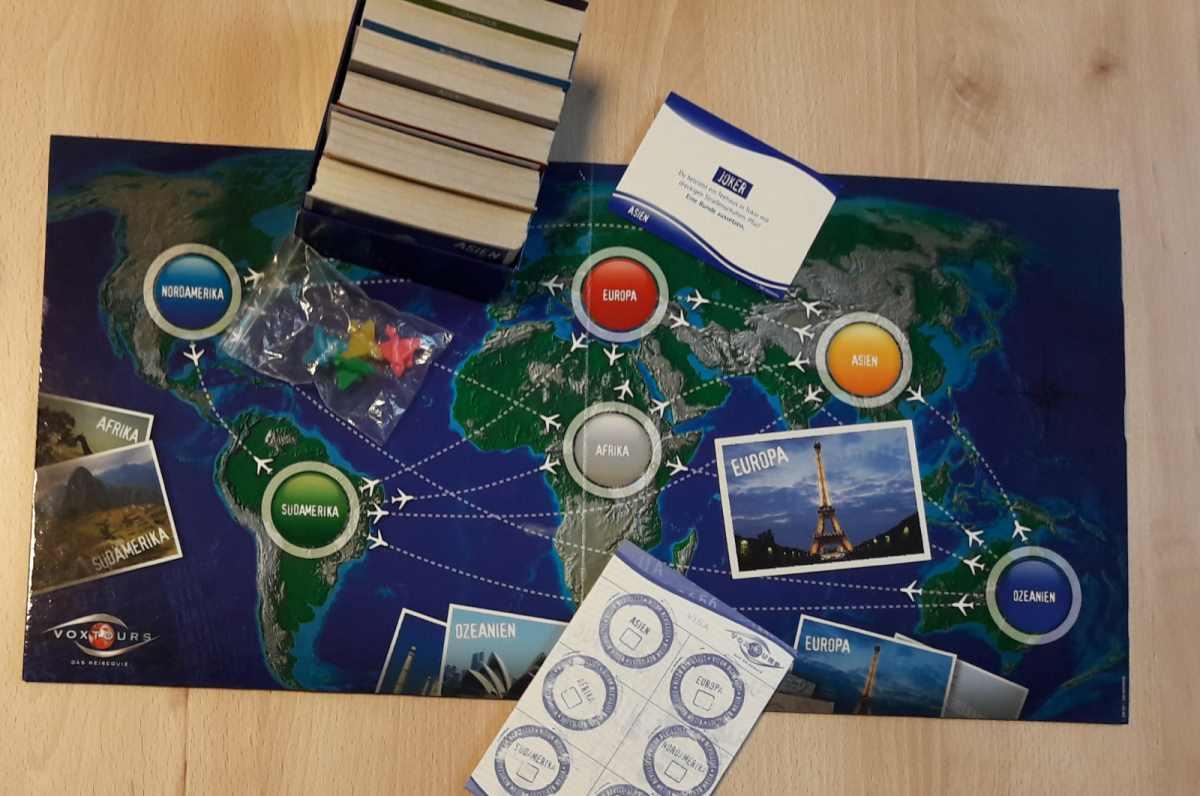 Spielanleitung Voxtours Reisequiz