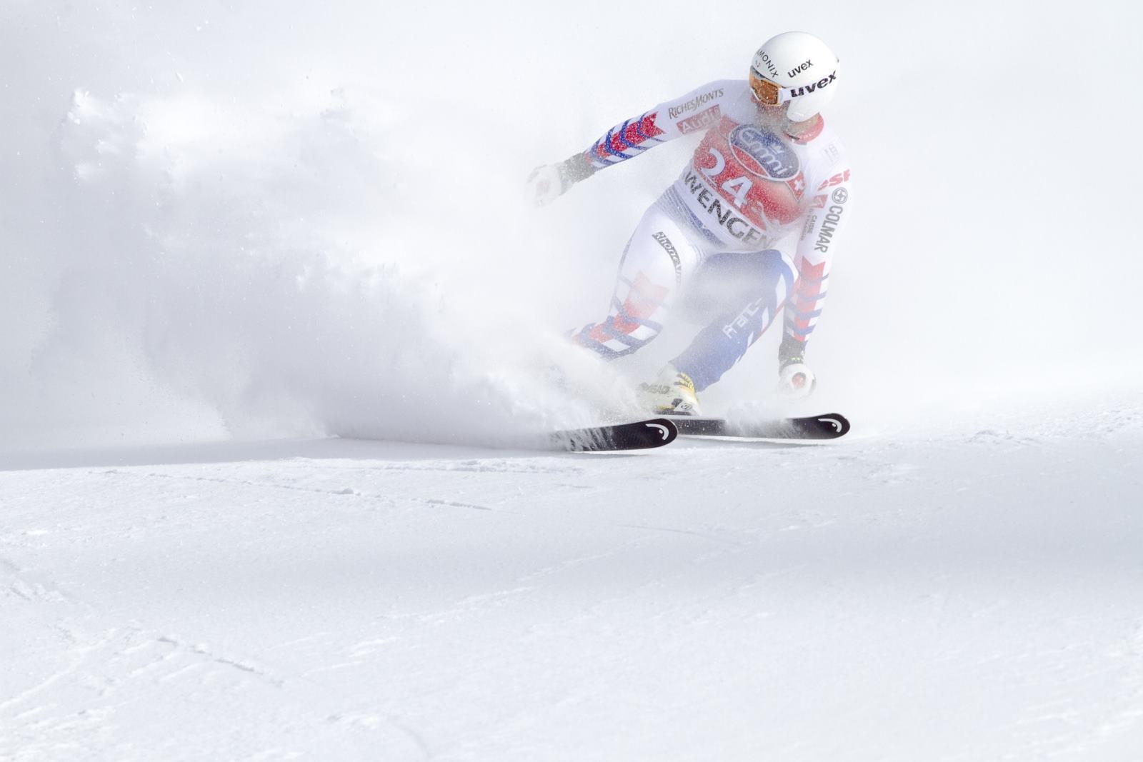 wettkampfausrüstung für Skispringer