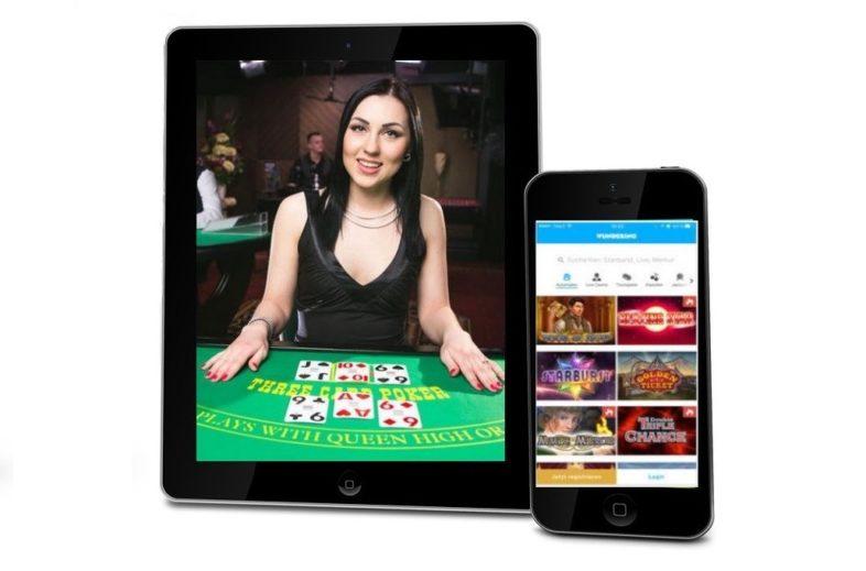 wunderino casino iphone