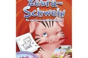 Zebra Schwein
