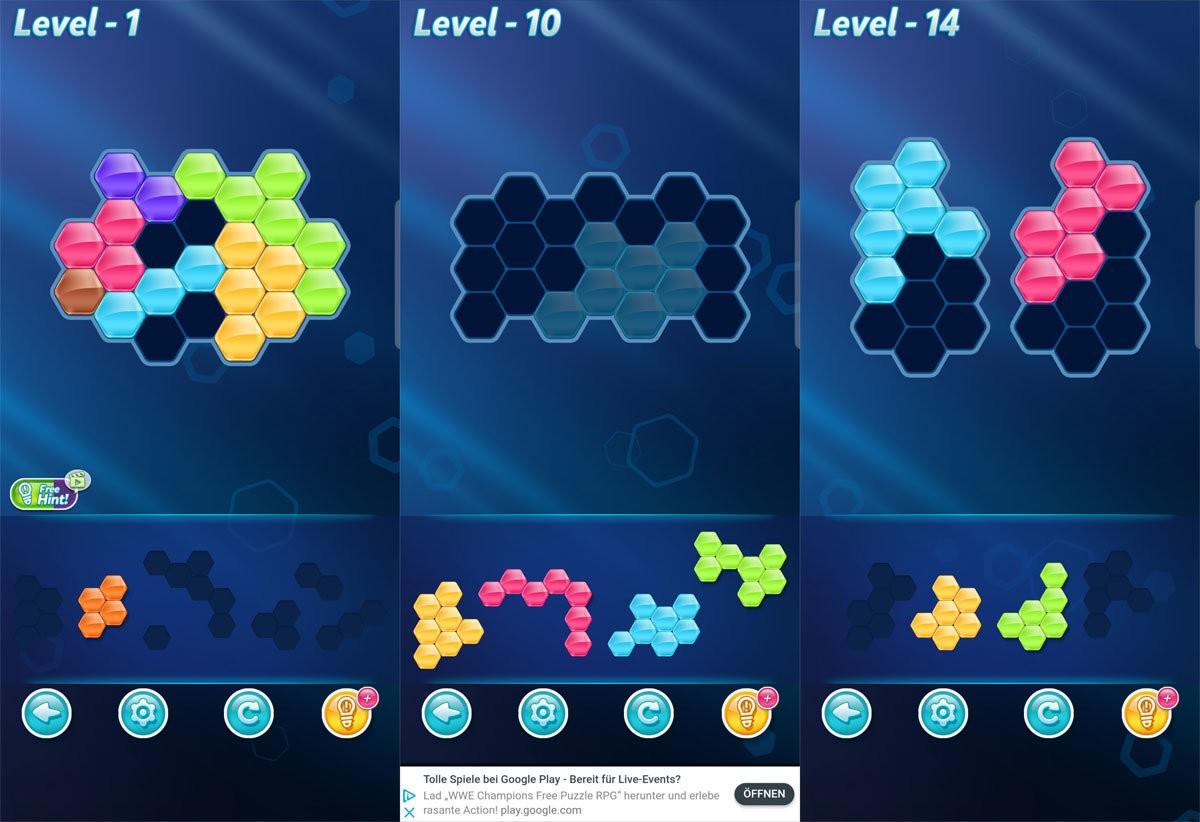 Block Hexa Puzzle Level