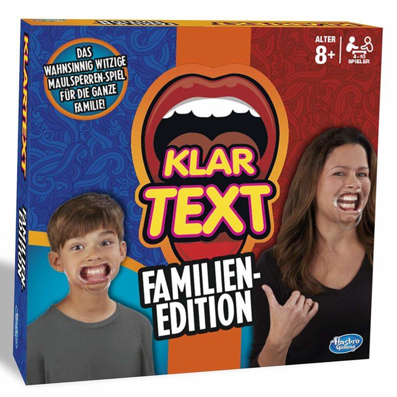Klar text