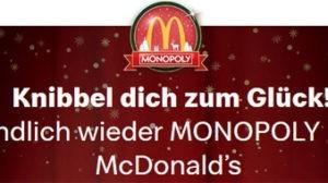 MC Donalds Monopoly