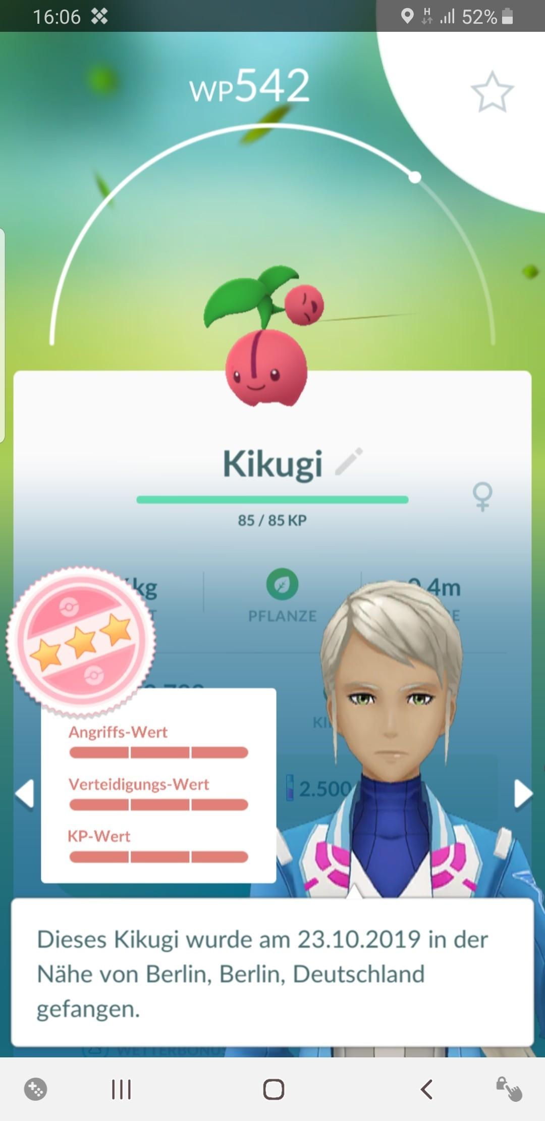 Pokemon Go Profil