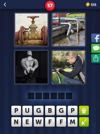 4 Bilder 1 Wort Rätsel