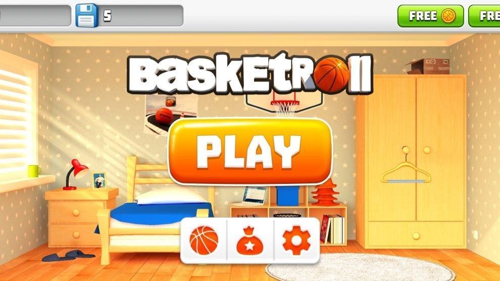 Szene aus BasketRoll