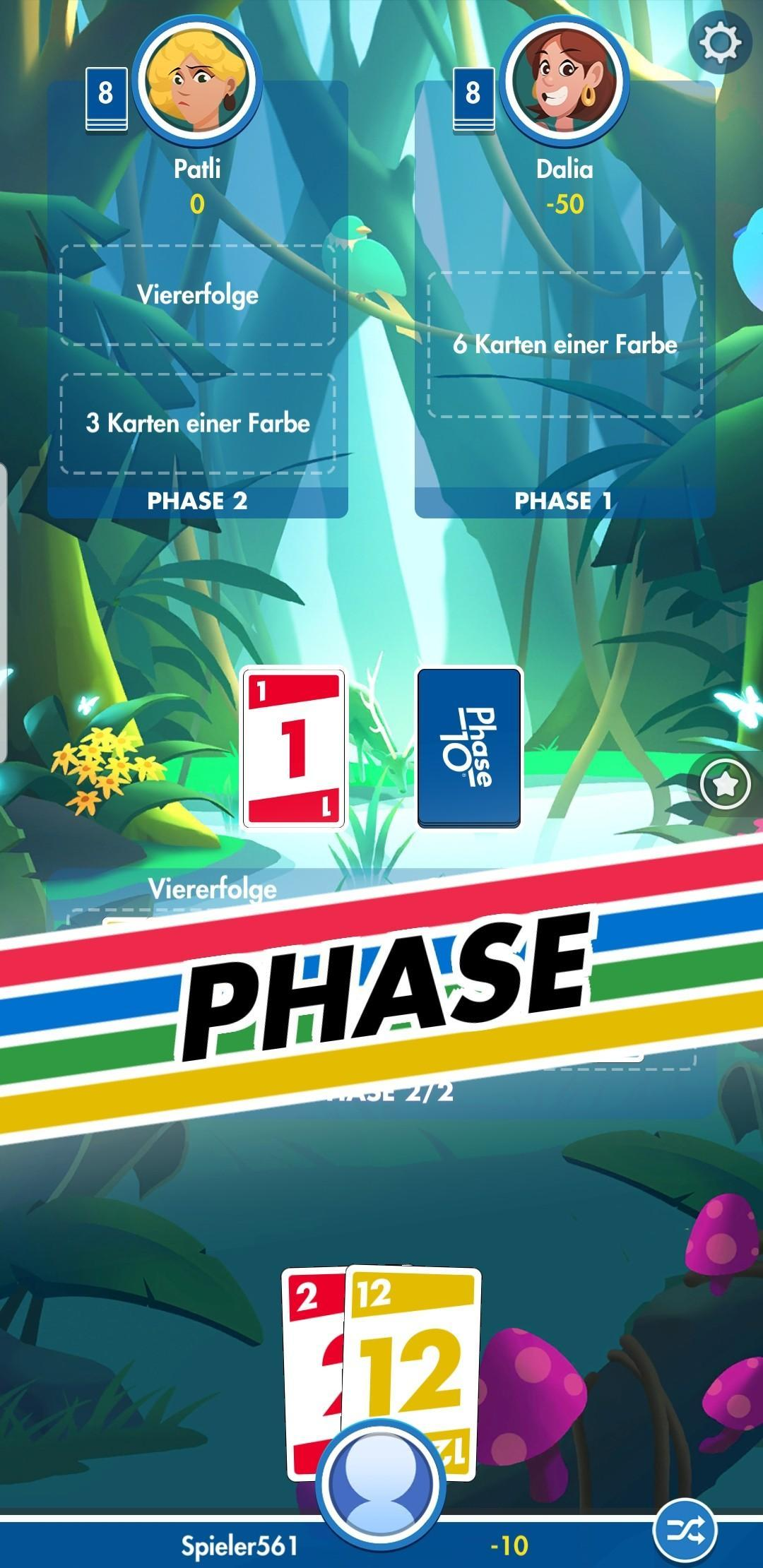 Phase 10 Pocket Anleitung