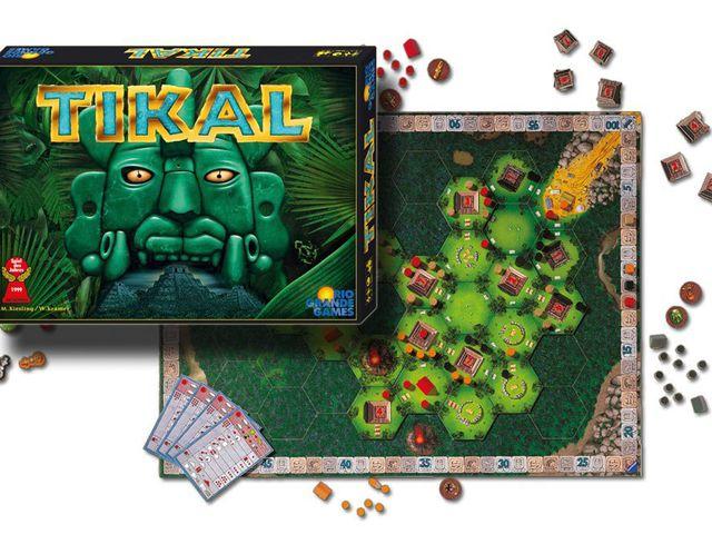 Tikal Zubehör