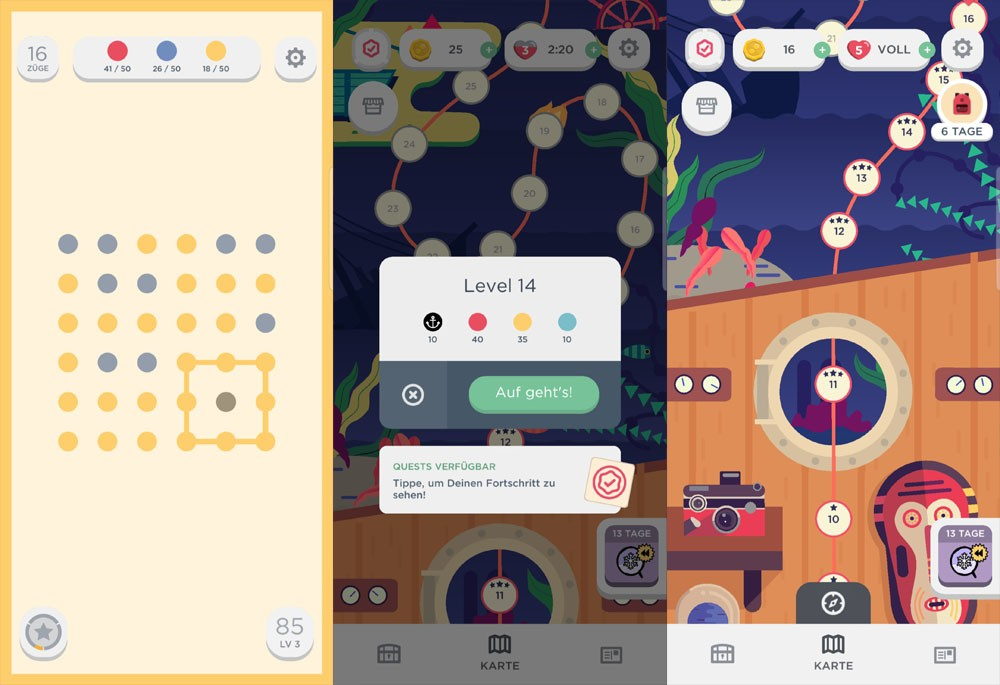 Two Dots Screenshots