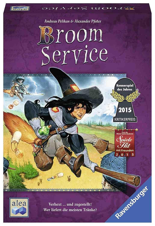 Broom Service Spielanleitung