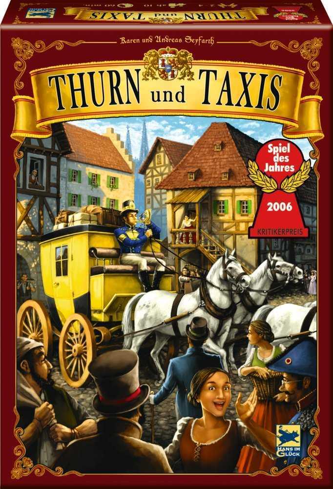 thurn und Taxis Spielanleitung