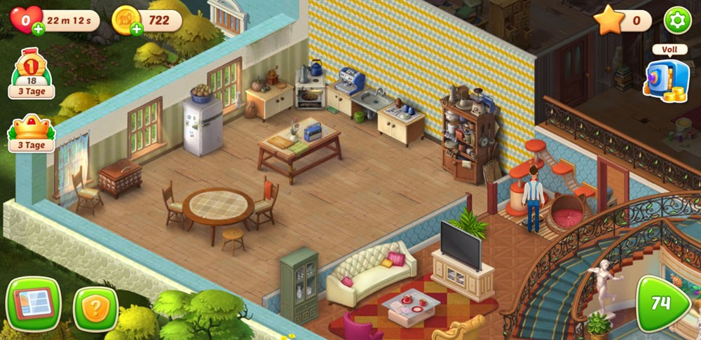 Homescapes Wohnung