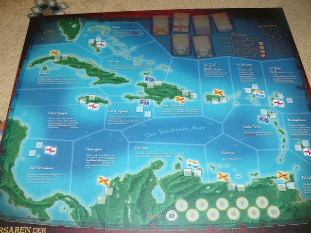 Korsaren der Karibik Spielplan