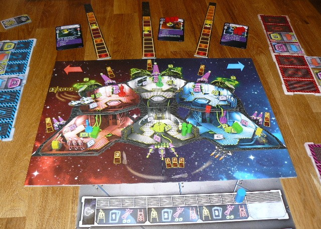 Space Alert Brettspiel