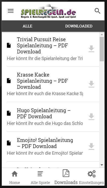 Spielregeln.de Android App 3