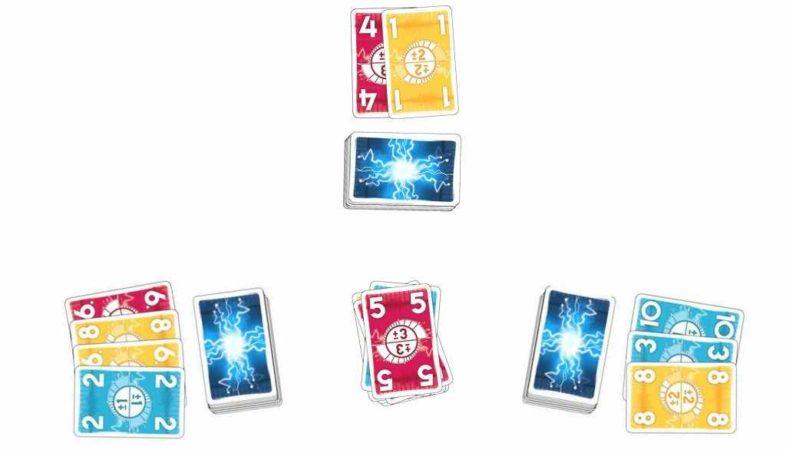 unter spannung spielkarten