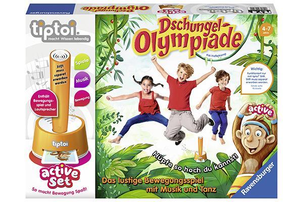 Dschungel Olympiade