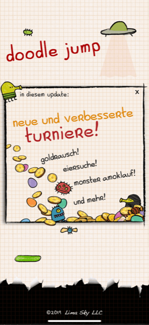 Doodle Jump Turniere
