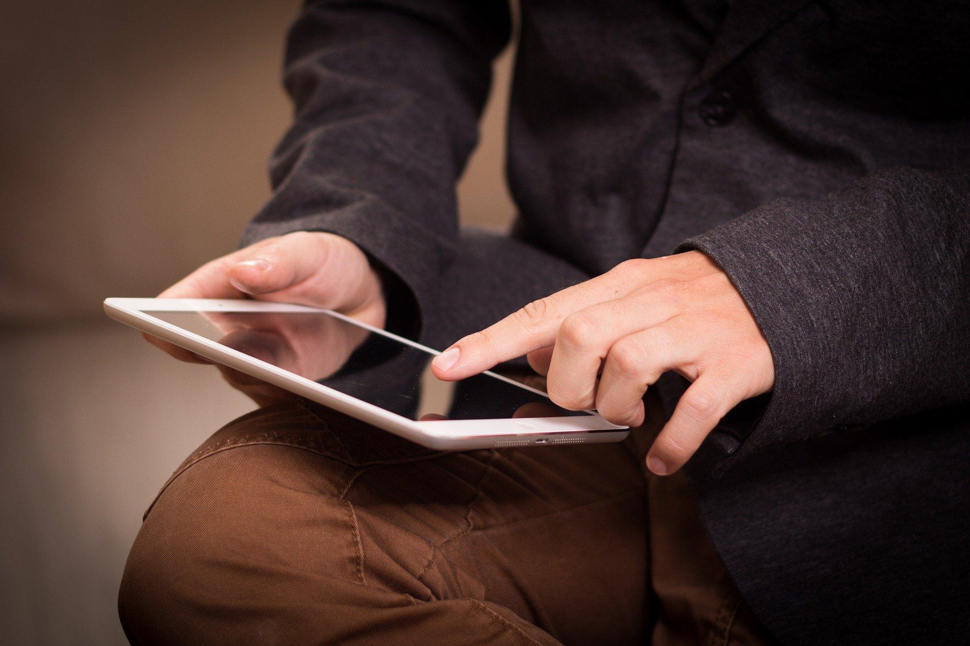 Rollenspiel Tablet