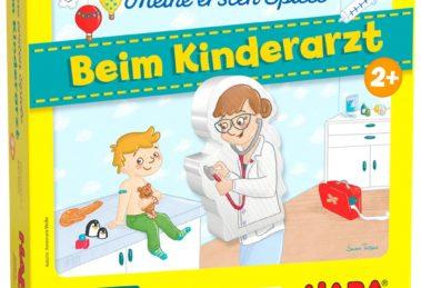 Beim Kinderarzt Bild