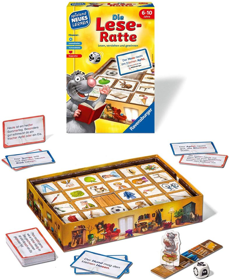 Die Lese Ratte Zubehör