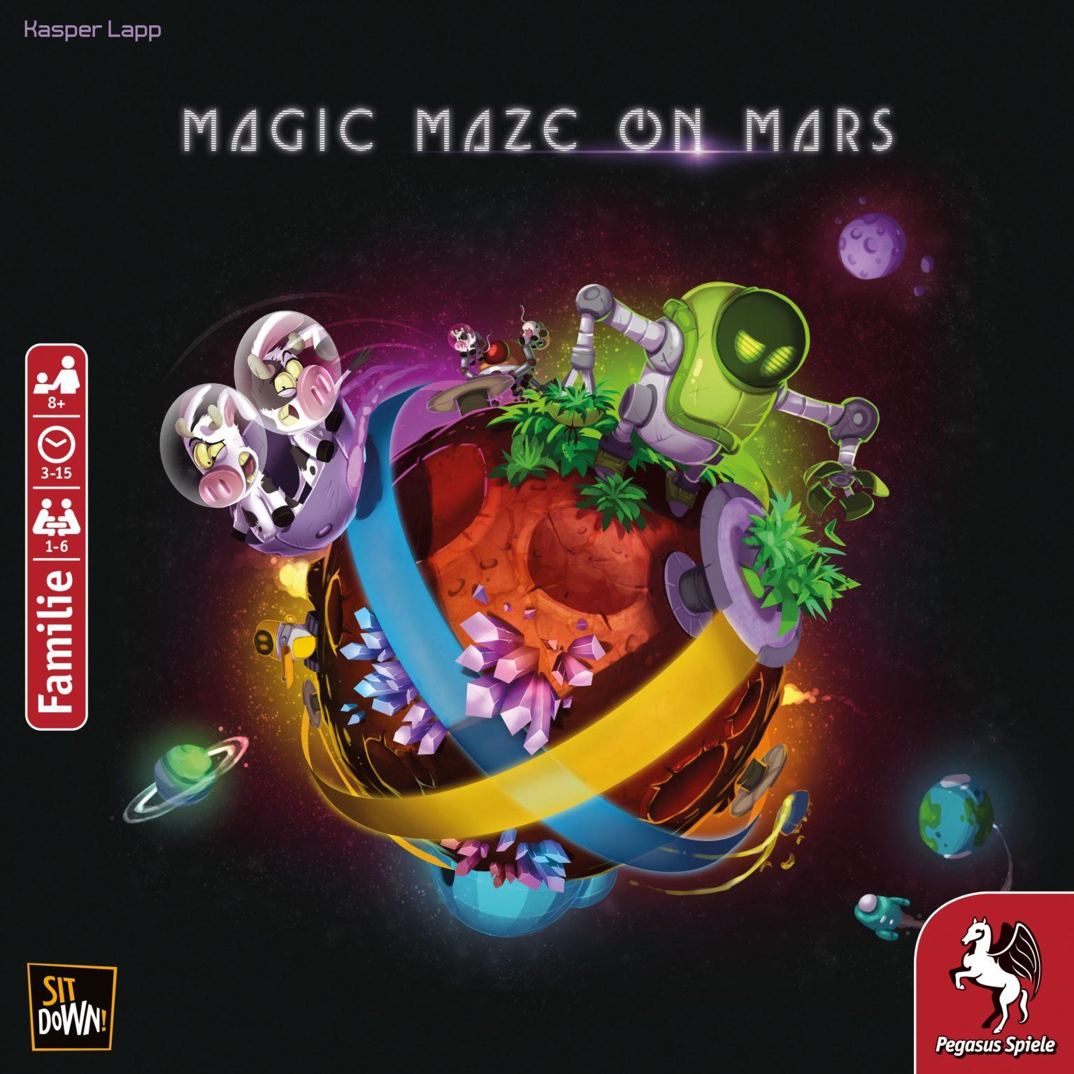 Magic Maze on Mars Bild