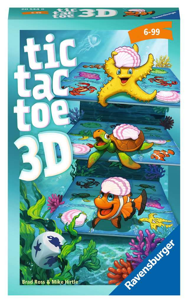 Tic Tac Toe 3D Bild