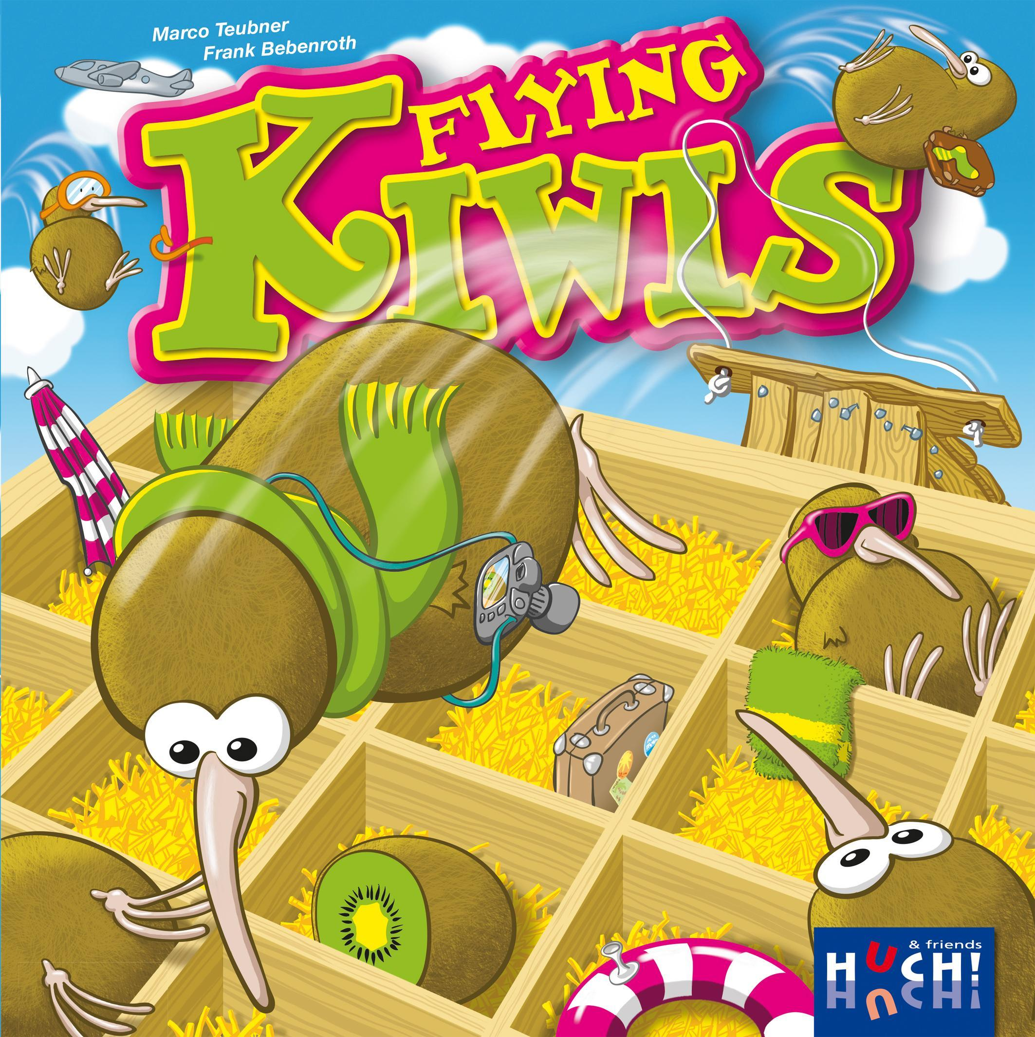 Flying Kiwis Bild