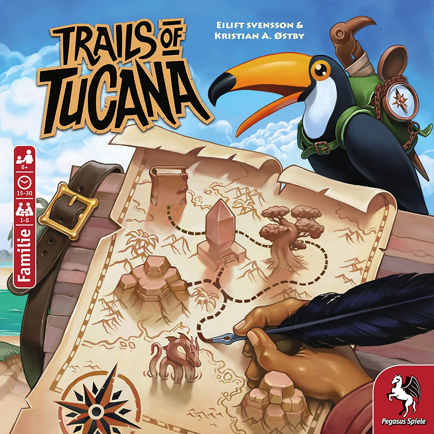 Trails of Tucana Bild