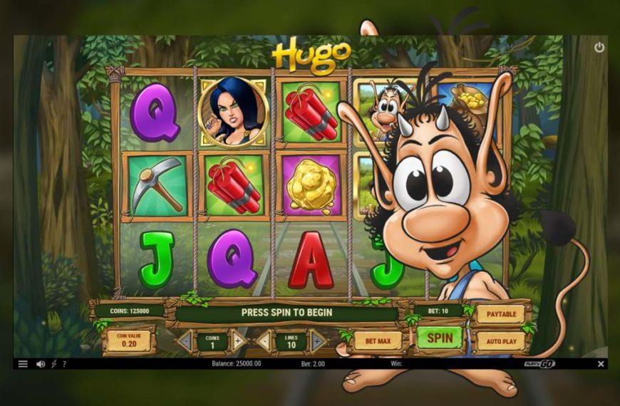 Hugo – der Spieleklassiker nun auch als Slot