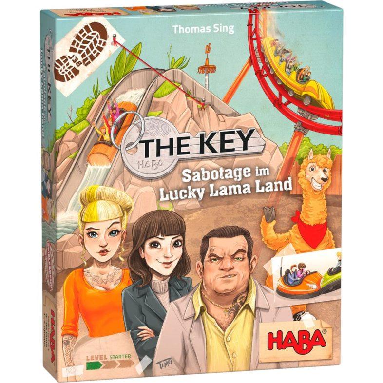 The Key Sabptage im Lucky Lama Land Bild