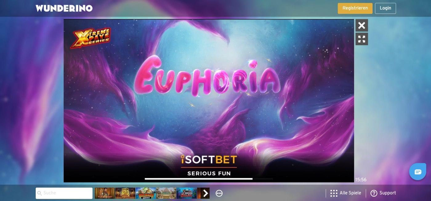 Euphoria kostenlos spielen