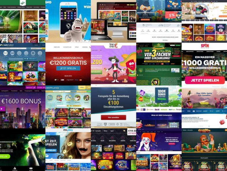 online casinos ohne 1 Euro Limit